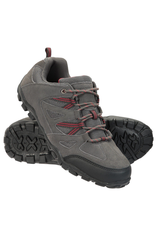 Mountain Warehouse Outdoor III Mens Walking Shoes - Grey  - Size: 8