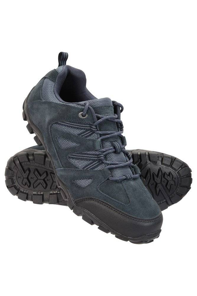 Mountain Warehouse Outdoor III Mens Walking Shoes - Navy  - Size: 8