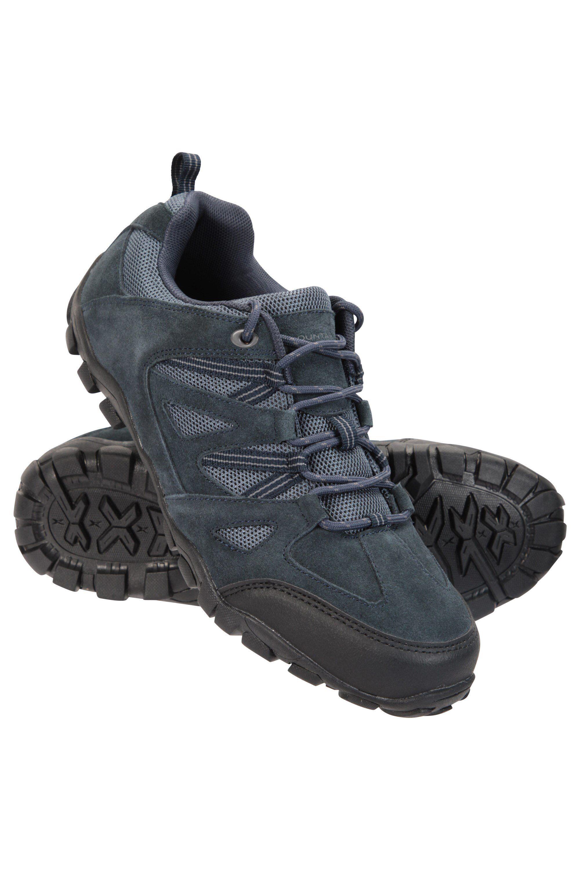 Mountain Warehouse Outdoor III Mens Walking Shoes - Navy  - Size: 8