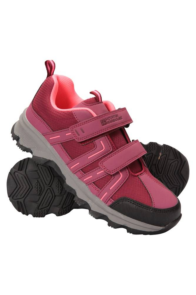 Mountain Warehouse Cannonball Kids Hiking Shoes - Pink  - Size: 5