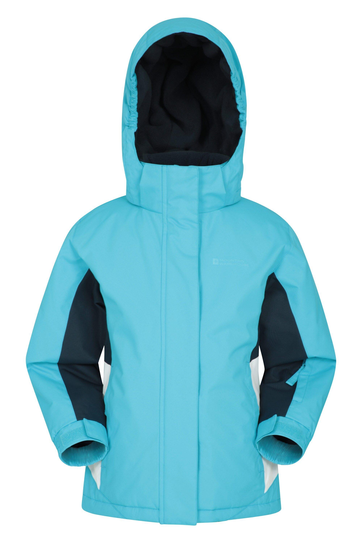 Mountain Warehouse Honey Kids Ski Jacket - Blue  - Size: 3T-4T