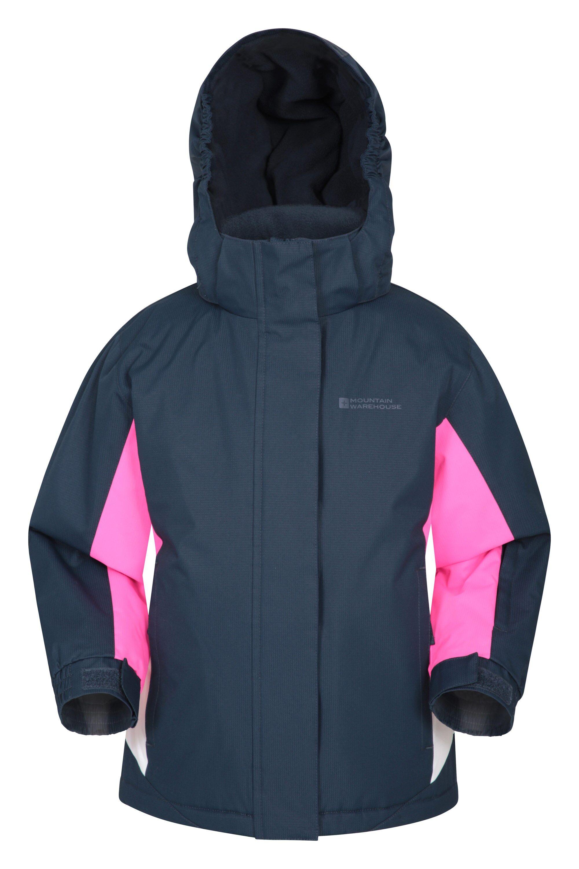 Mountain Warehouse Honey Kids Ski Jacket - Blue  - Size: 5-6