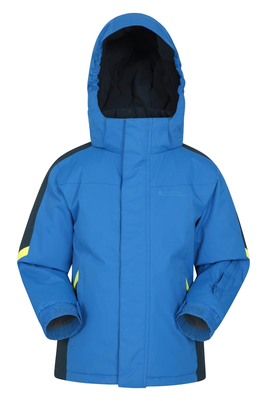 Mountain Warehouse Raptor Kids Snow Jacket - Blue  - Size: 6X-8