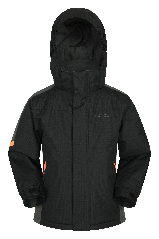 Mountain Warehouse Raptor Kids Snow Jacket - Grey  - Size: 5-6