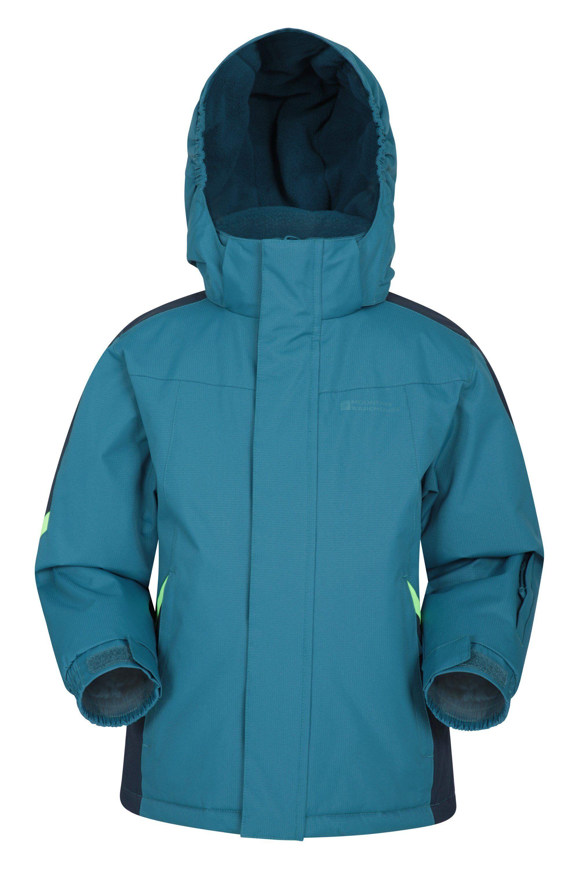 Mountain Warehouse Raptor Kids Snow Jacket - Charcoal  - Size: 2T