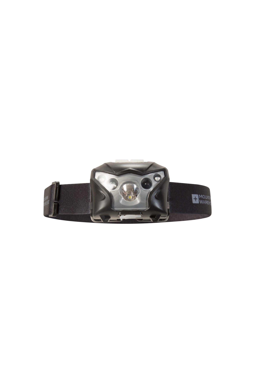 Mountain Warehouse Extreme Sensor Cree USB Headlamp - Black  - Size: ONE