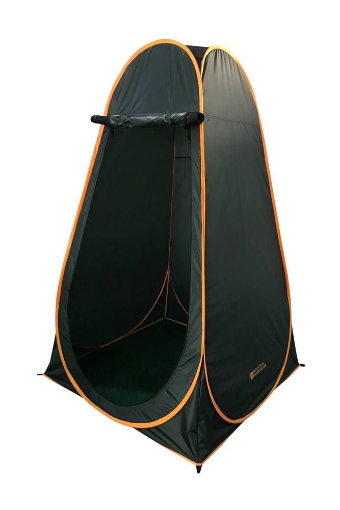 Mountain Warehouse Pop-Up Shower Toilet Tent - Green  - Size: ONE