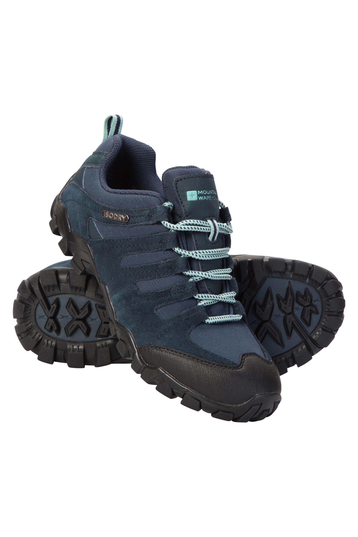 Mountain Warehouse Belfour Womens Outdoor Walking Shoes - Navy  - Size: 6