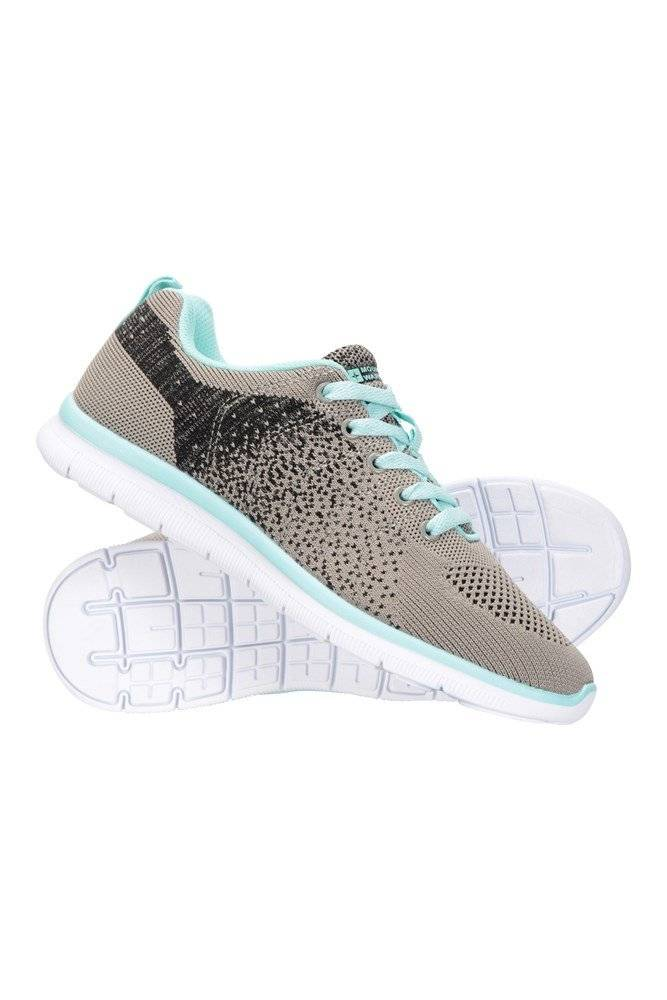 Mountain Warehouse Zoom Womens Active Shoes - Grey  - Size: 8