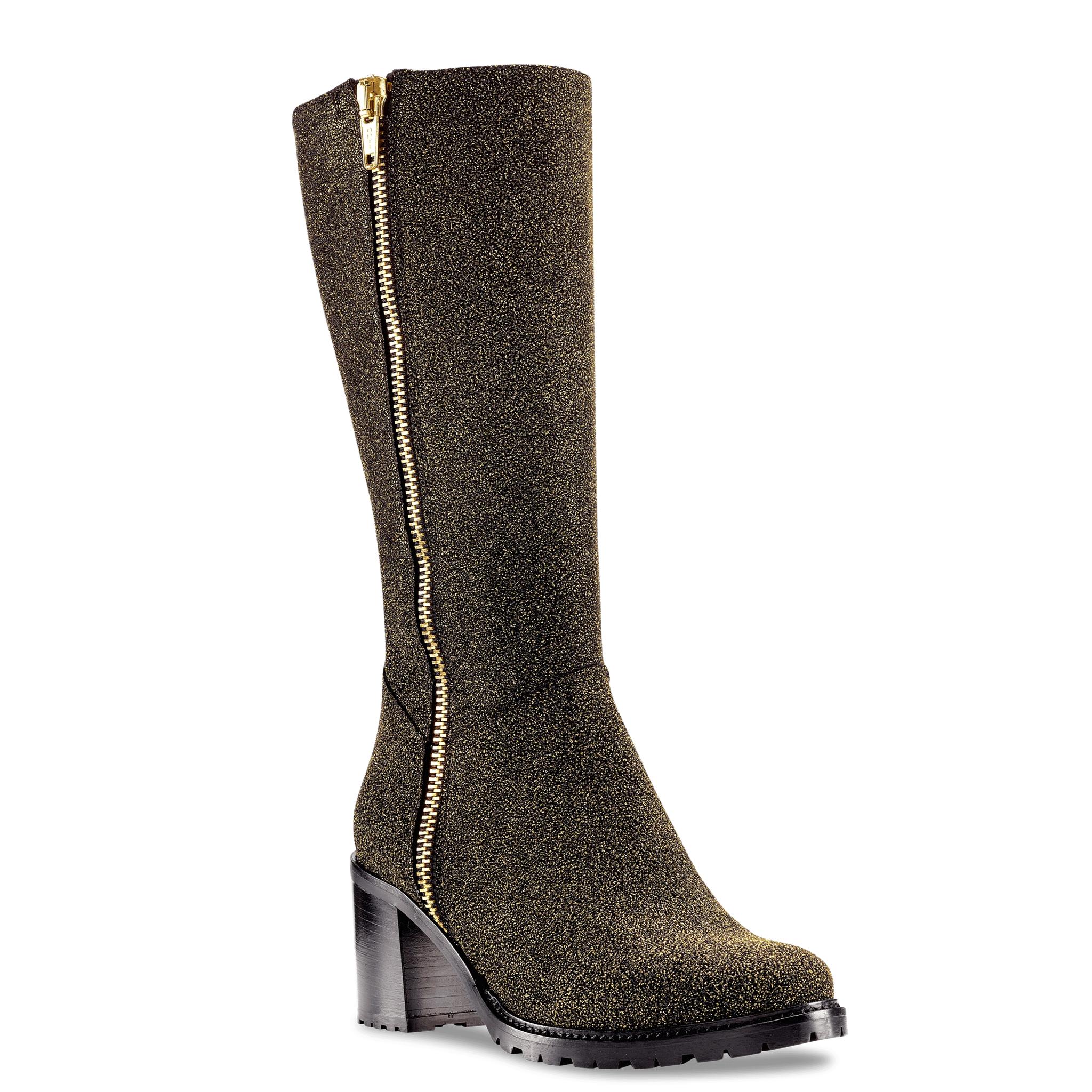 Ross & Snow Rosina Women's Gold Tall Boot - Discount Italian Shoes
