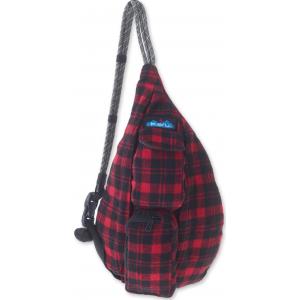 Kavu Women's Mini Plaid Rope Bag