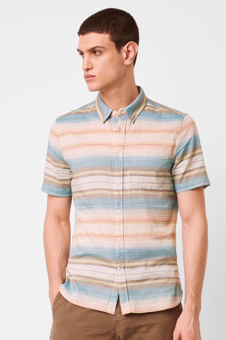French Connenction Summer Pastel Stripe Shirt