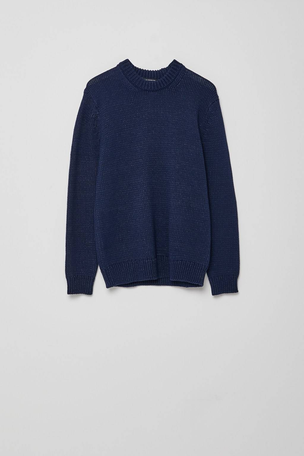French Connenction Chunky Indigo Sweater