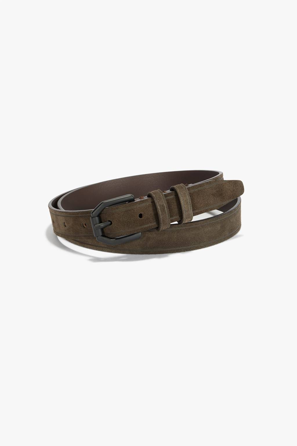 French Connenction Suede Leather Belt