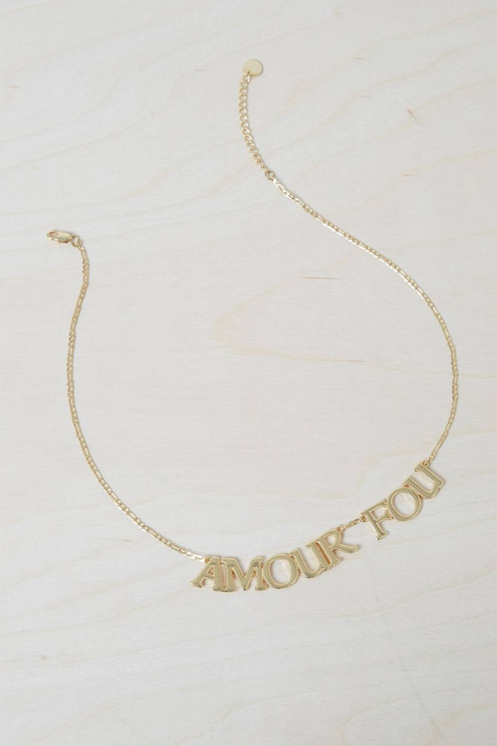 French Connenction Amour Fou Necklace