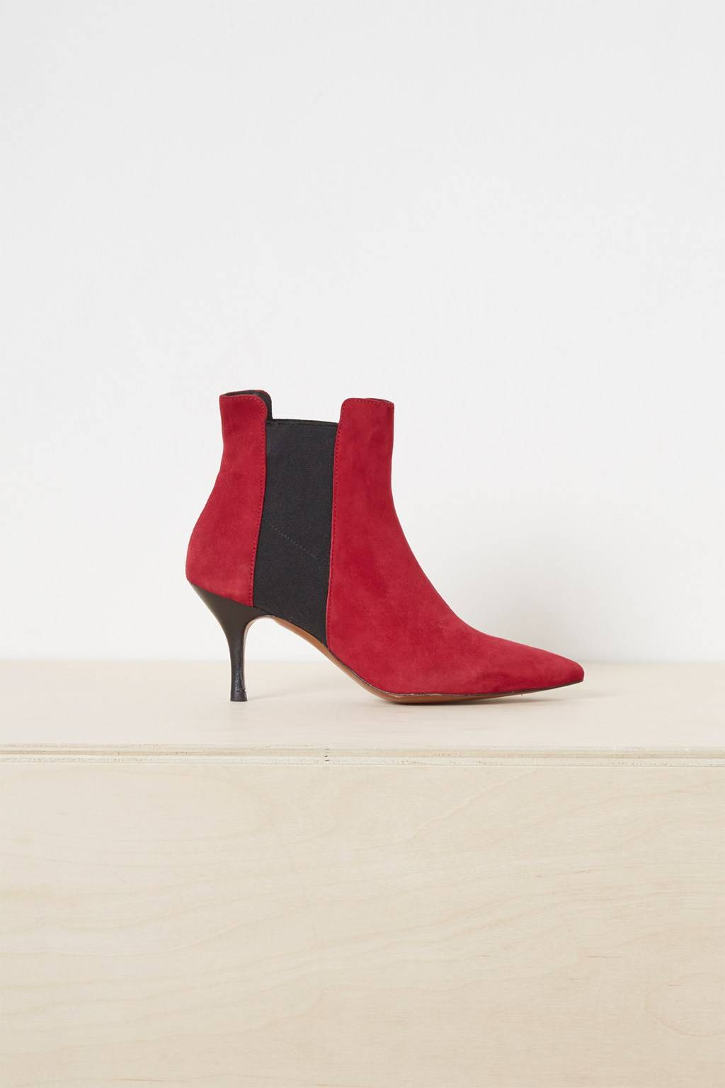 French Connenction Jojo Suede Chelsea Pointy Boots