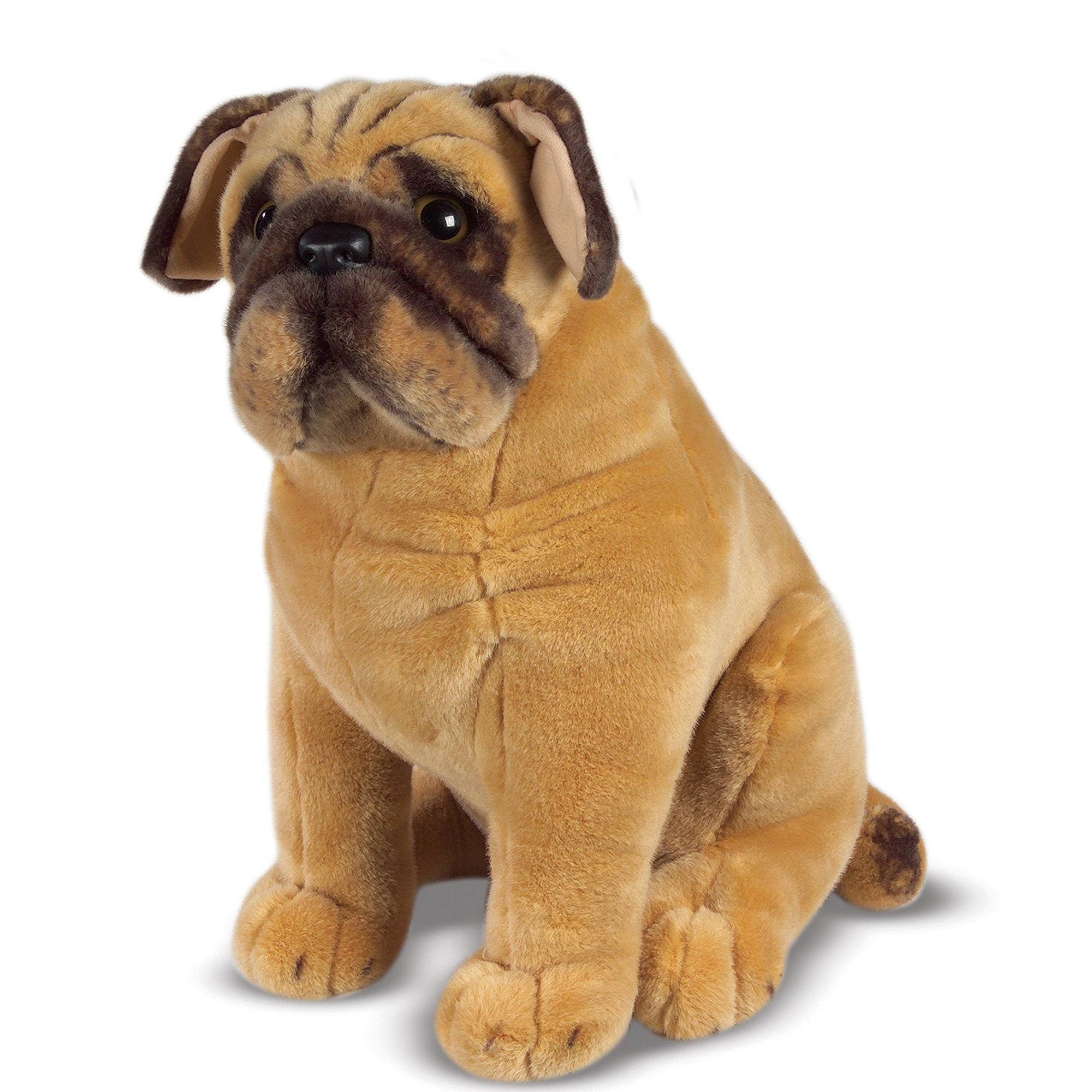 Melissa & Doug Pug Dog Stuffed Animal