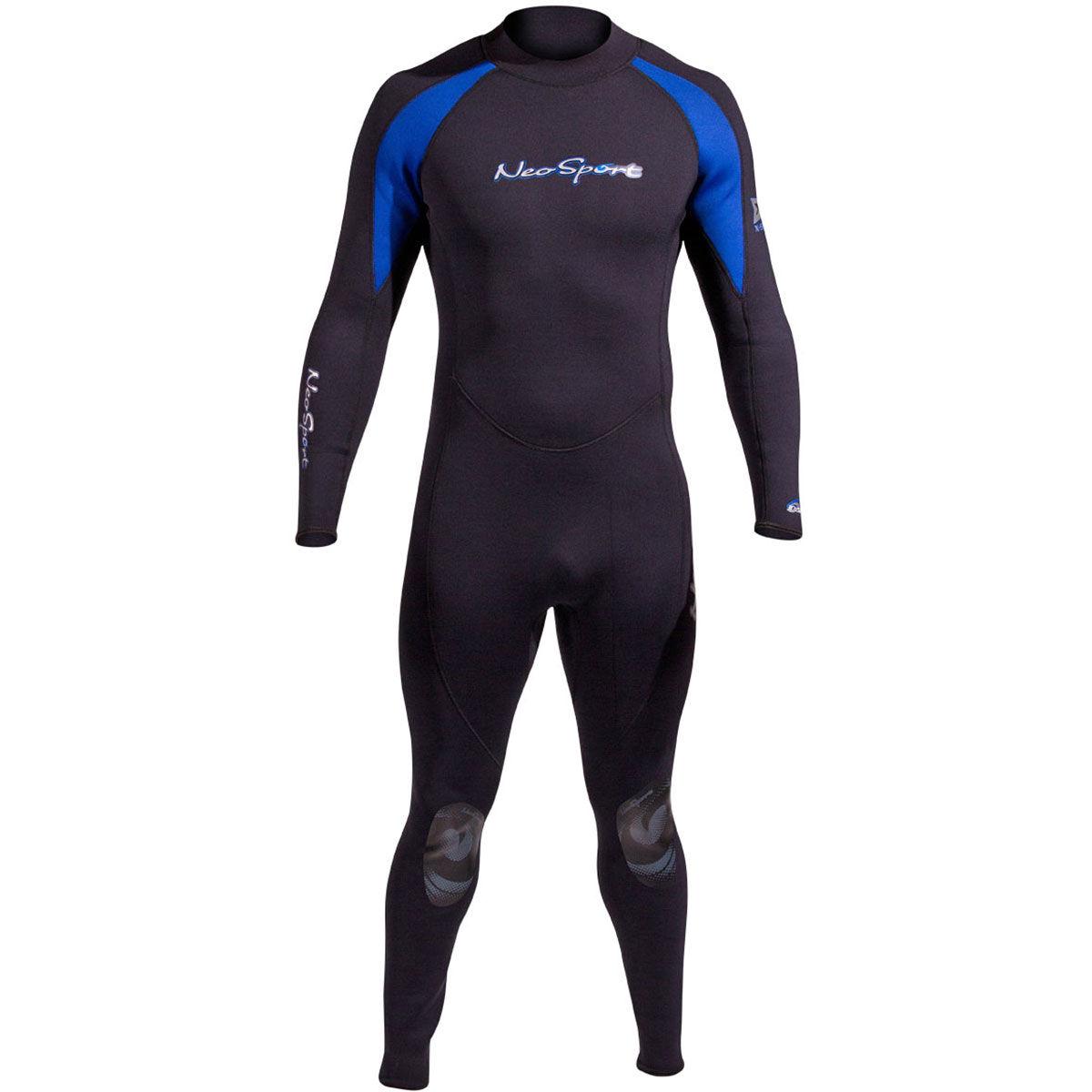 Neosport by Henderson NeoSport XSPAN 5mm Men's Jumpsuit, Black/Blue Small