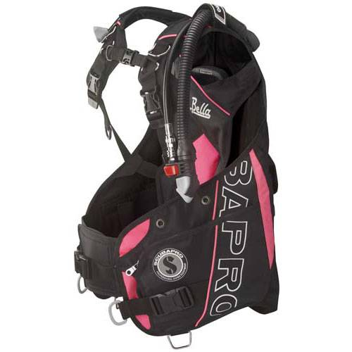 Scubapro Bella BC with Air 2 ~2018 Model Black/Pink Small