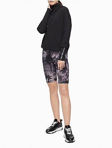 Calvin Klein Performance Tie Dye High Waist Bike Shorts
