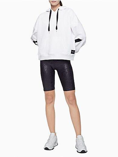 Calvin Klein Performance Printed High Waist Bike Shorts