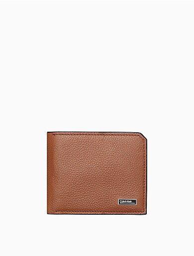Calvin Klein Micro Pebble Bifold Wallet