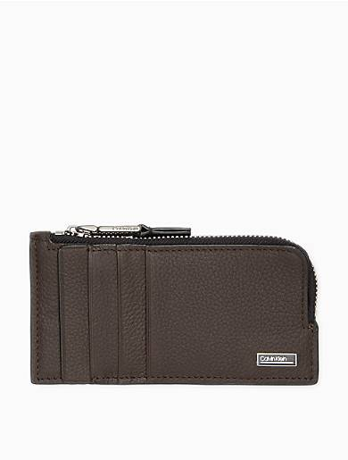 Calvin Klein Micro Pebble Long L-Zip Wallet