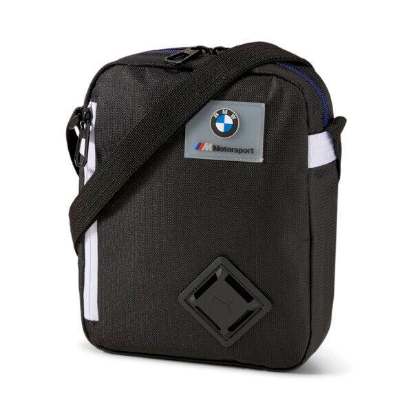 Puma BMW M Motorsport LS Portable Bag in Black