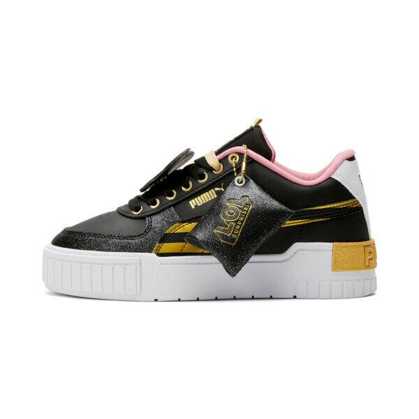 Puma x L.O.L. SURPRISE! Cali Sport Queen B Sneakers JR in Black, Size 5.5