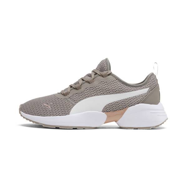 Puma Sirena Sport Fresh Women's Training Shoes in Grey, Size 8.5