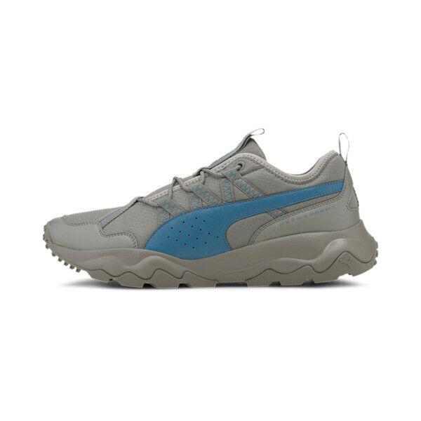 Puma Ember Trail Men's Running Shoes in Ultra Grey/Digi/Blue, Size 9.5