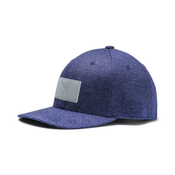 Puma Utility Patch 110 Snapback Hat in Peacoat