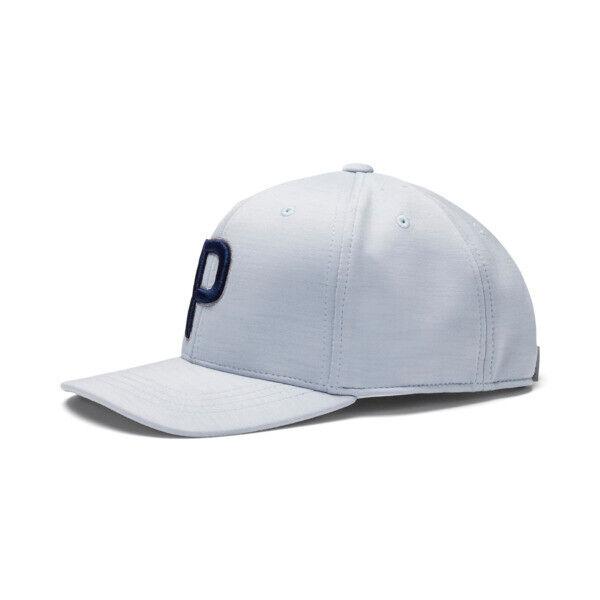 Puma P Kids' Snapback Cap in Quarry Grey