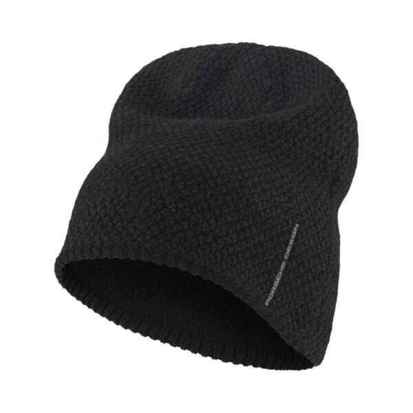 Puma Porsche Design Beanie Hat in Jet Black, Size Adult