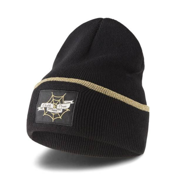Puma x CHARLOTTE OLYMPIA Beanie Hat in Black, Size Adult