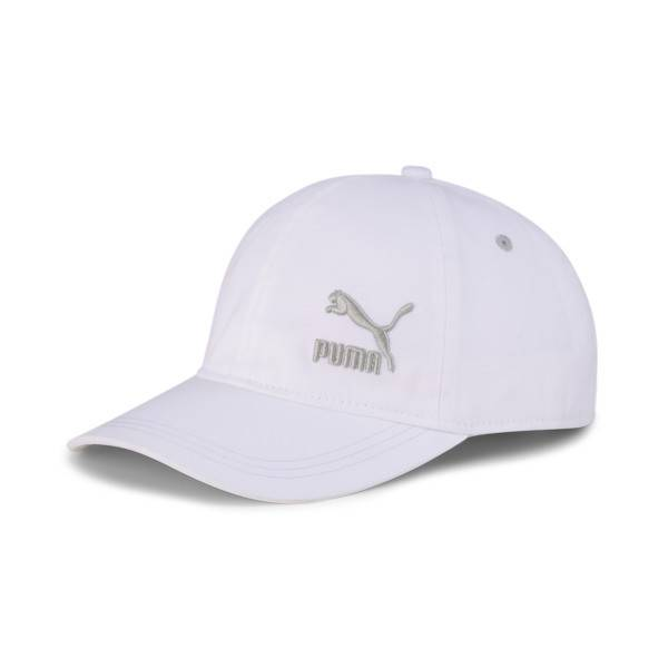 Puma Dad Cap in White, Size Adult