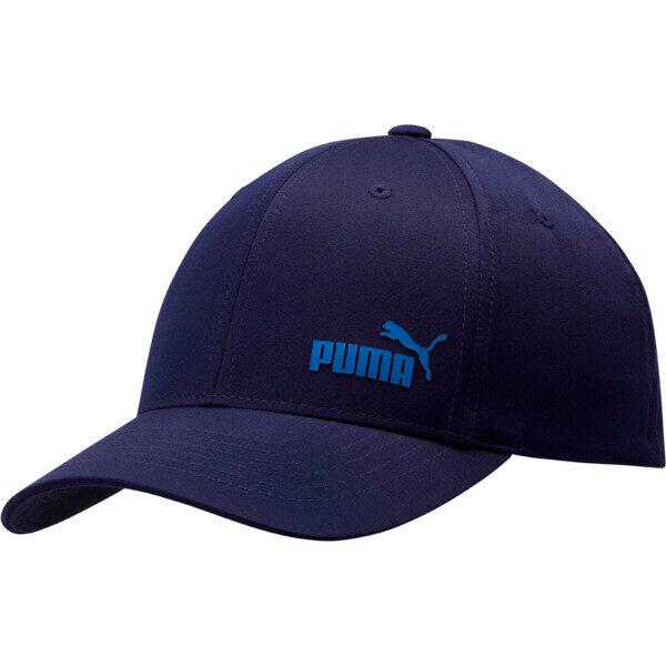 Puma Force Flexfit Cap in Dark Blue, Size S/M