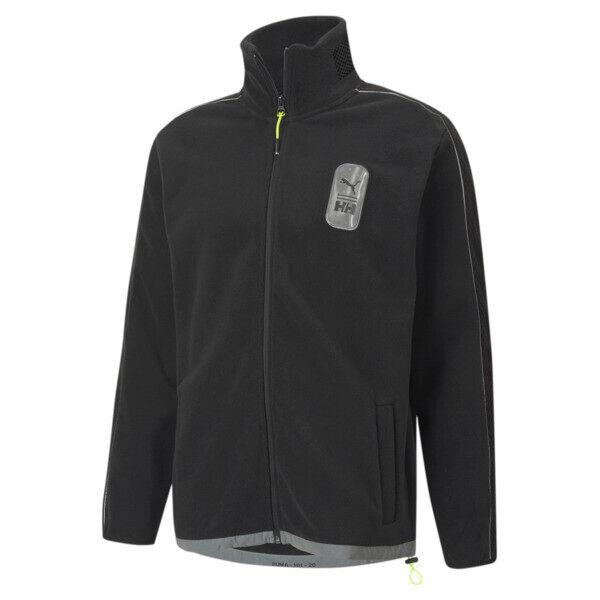 Puma x HELLY HANSEN Men's Polar Fleece Top in Black, Size XL