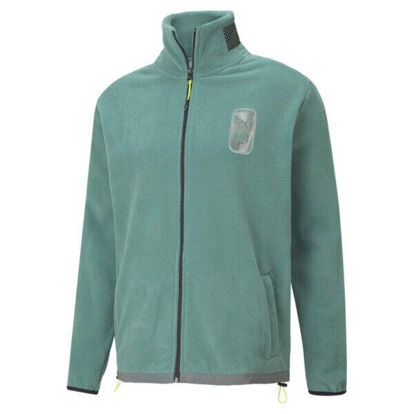 Puma x HELLY HANSEN Men's Polar Fleece Top in Trellis, Size XL
