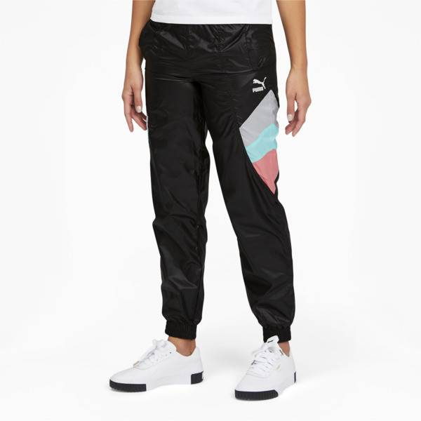 Puma Tailored for Sport Women's Track Pants in Black, Size XS