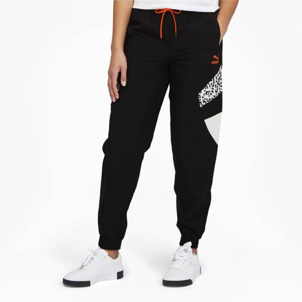 Puma Tailored for Sport Women's Track Pants in Black, Size S