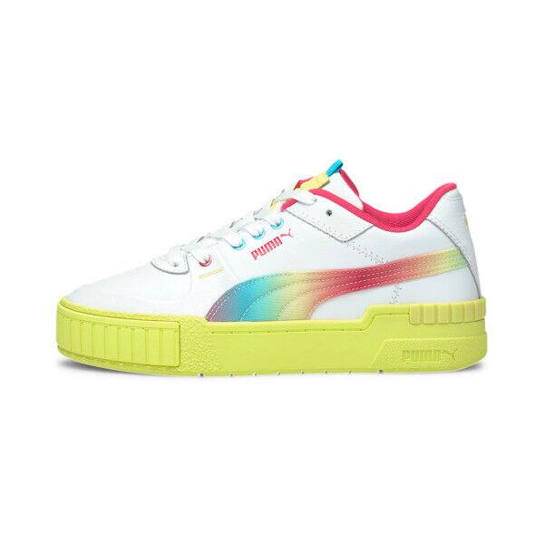 Puma Cali Sport Tie Dye Women's Sneakers in White, Size 6