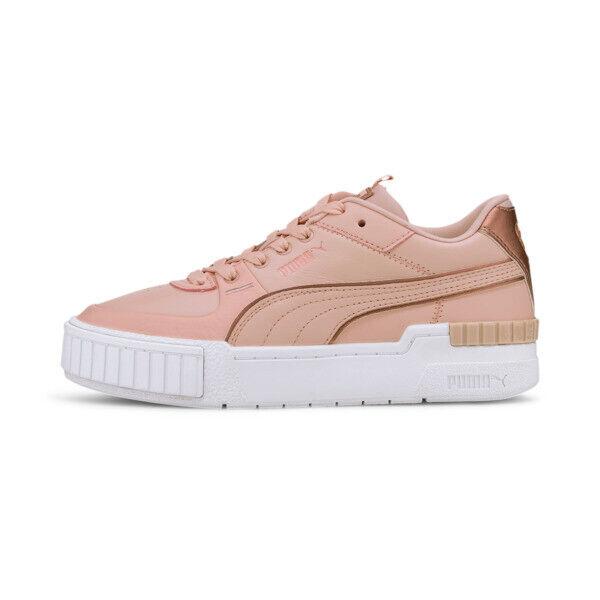 Puma Cali Sport Wabi-Sabi Women's Sneakers in Peachskin/White, Size 9.5