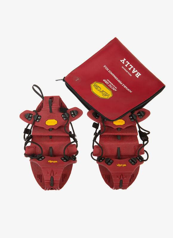 Bally Vibram Portable Performance Sole Red Xs (37-38)  Male