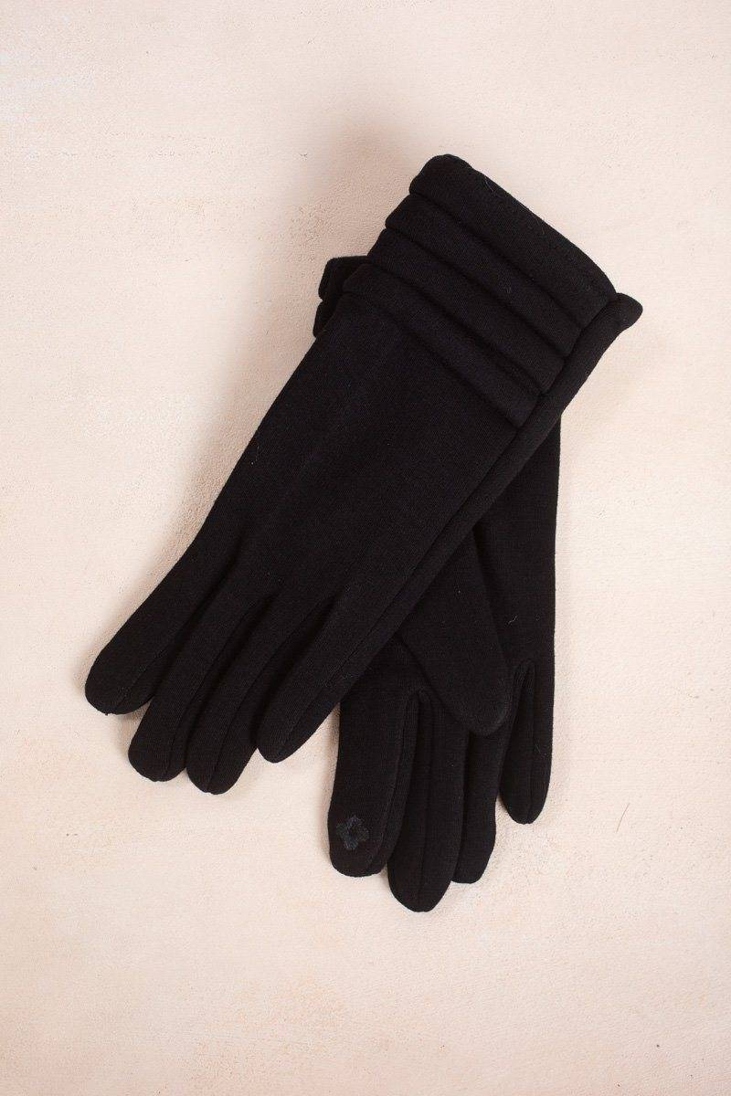 Look by M Ellen Black Gloves