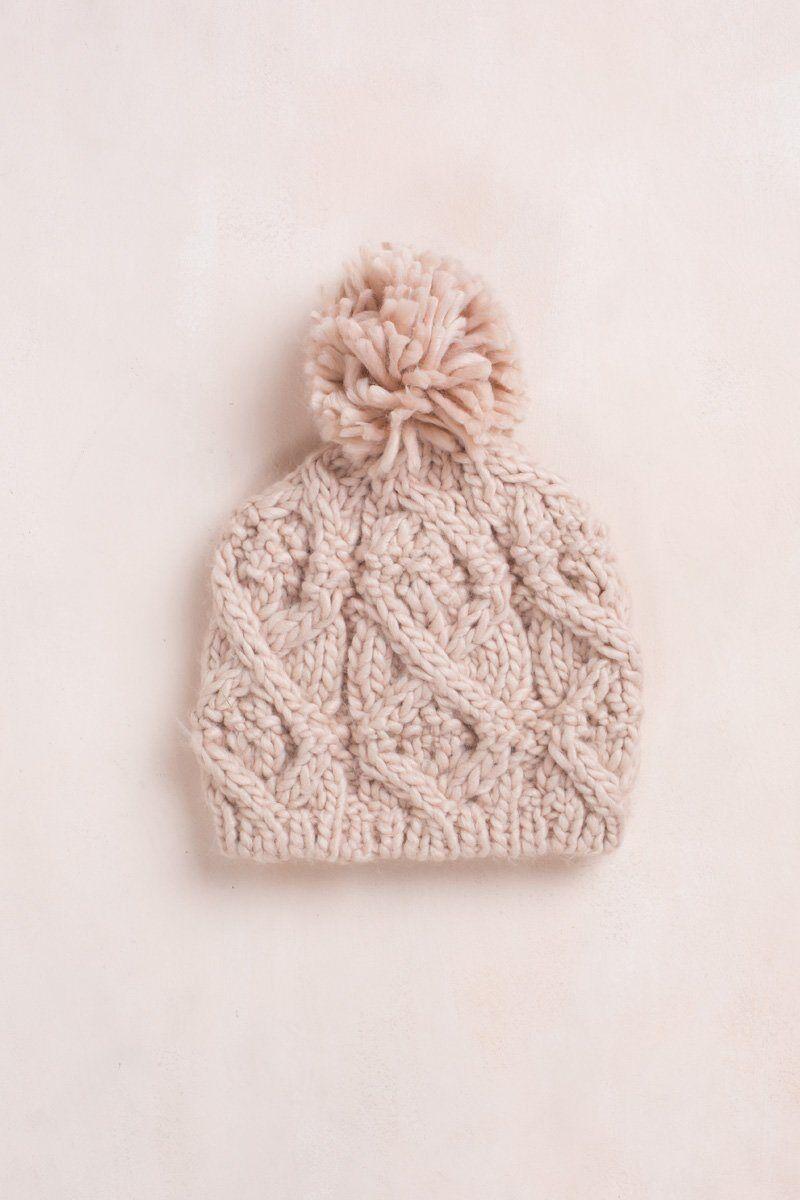 Fame Penelope Knit Beanie