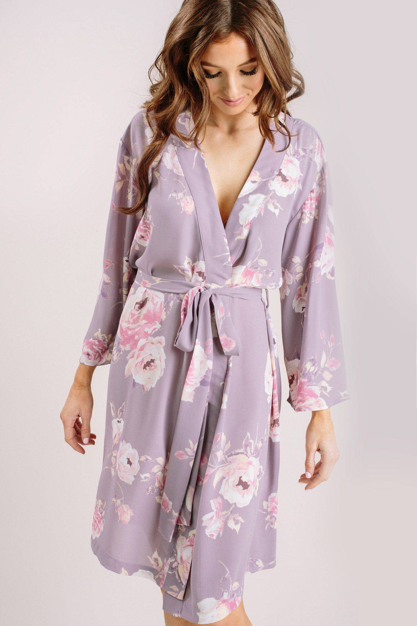 Everly Sienna Floral Robe