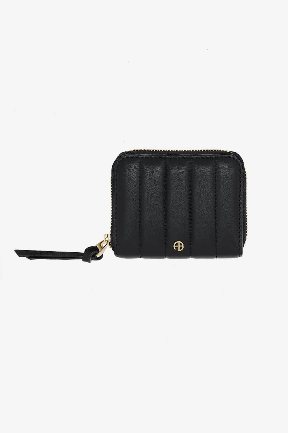 ANINE BING Nova Wallet in Black  - Black - Size: One Size