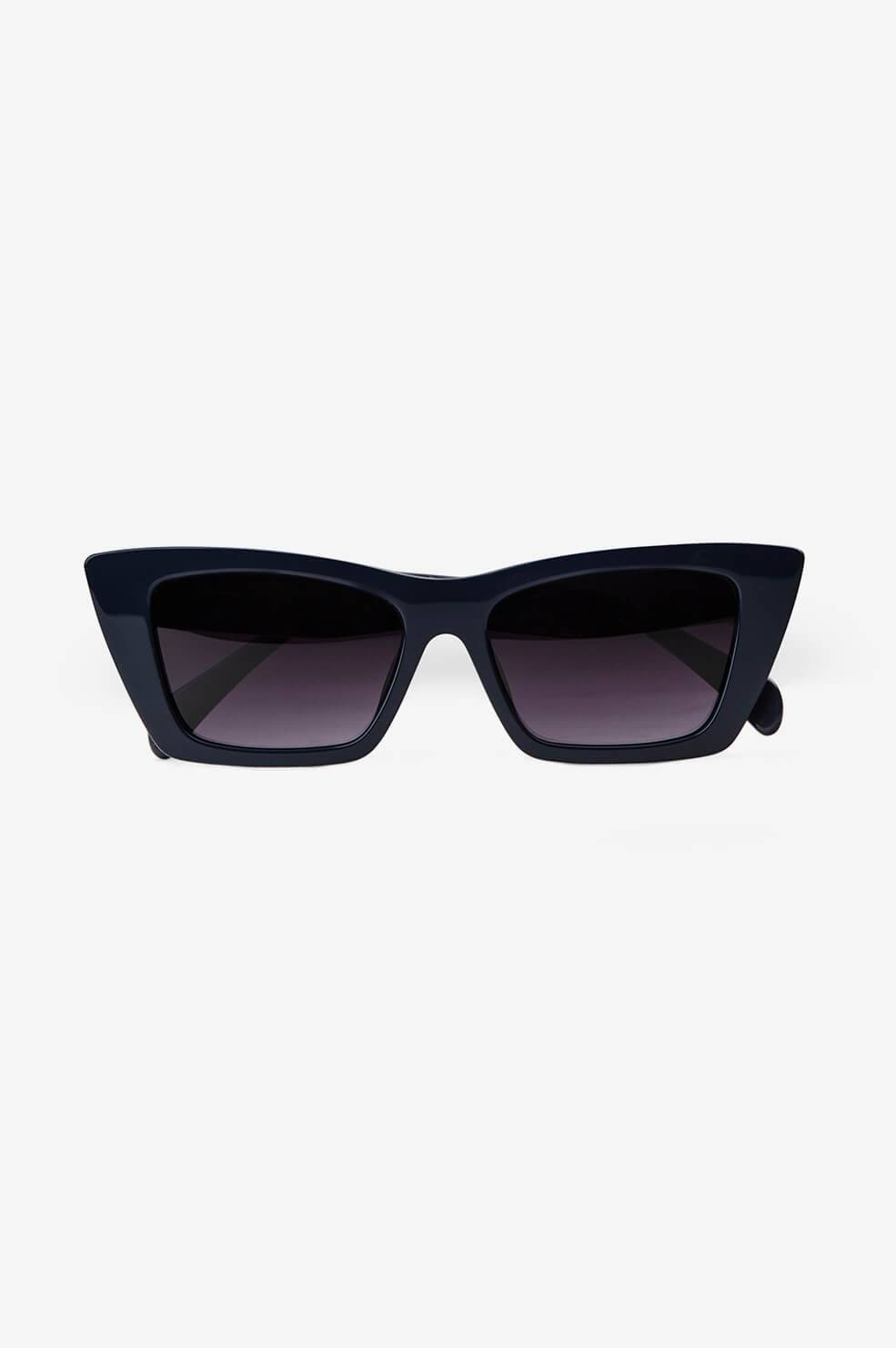ANINE BING Levi Sunglasses in Navy  - Navy - Size: One Size