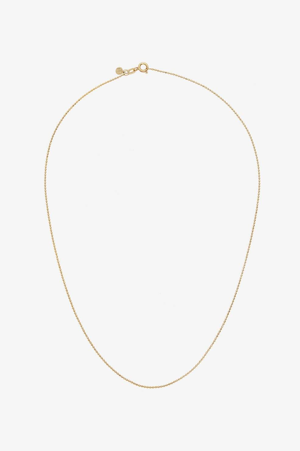 ANINE BING Beaded Necklace in Gold  - 14k Yellow Gold - Size: One Size